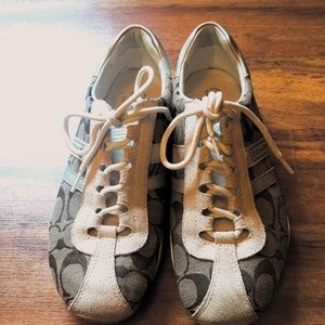 Coach Sneakers! In Good Condition!